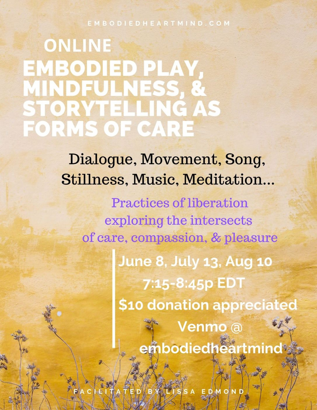 online embodied play summer
