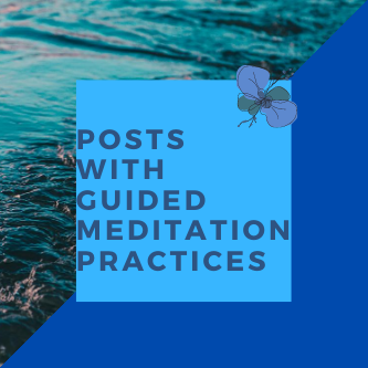 Photo with Text Guided Meditation Practice Posts